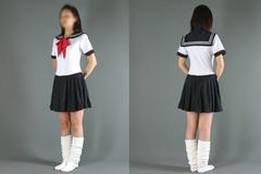セーラーレオタード(夏服)ペニスケース付き【メンズ特大】