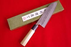 1-7 梨地 (三徳包丁 170mm)