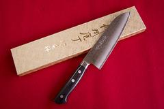 1-1 ツチ目 (三徳包丁 170mm)