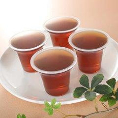 国産ほうじ茶使用(水分補給用)無糖ゼリー 100g 40個入り 嚥下補助