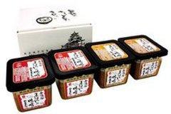 まぼろしの味噌 500g×4個セット 箱入 梅屋 山内本店 無添加味噌 2種入り