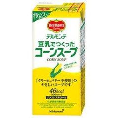 デルモンテ 豆乳でつくったコーンスープ 1000ml紙パック×12(6×2)本入