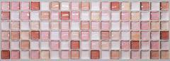 【 Dream Sticker 】モザイクタイルシール キッチン 洗面所 トイレの模様替えに最適のDIY 壁紙デコレーション ALT-9 レッド N-Red 【 自作アートインテリア/ウォールステッカー 】貼り方説明書付属