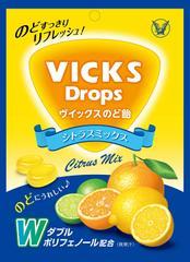 大正製薬 ヴイックスのど飴 シトラスミックス 70g×6袋
