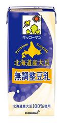キッコーマン飲料 北海道産大豆 無調整豆乳 1L×6本