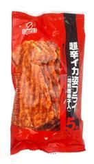 スグル食品 超辛イカ姿フライ<焙煎唐辛子入> 5枚×10袋