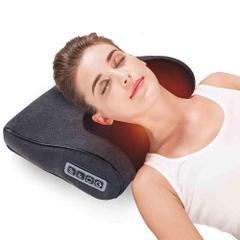 首マッサージャー マッサージ器 マッサージ枕 マッサージクッション 振動 ヒーター付き フットマッサージャー 首 肩 肩こり 腰 背中 太もも 家庭用 職場用 ストレス解消