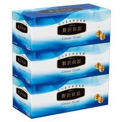 エリエール ティッシュ 保湿 200組×9箱 パルプ100% 贅沢保湿