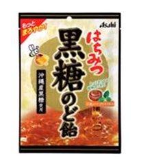 アサヒグループ食品 はちみつ黒糖のど飴 120g×6袋