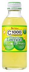C1000 ビタミンレモン クエン酸&ローヤルゼリー 140ml×30本 ハウスウェルネスフーズ