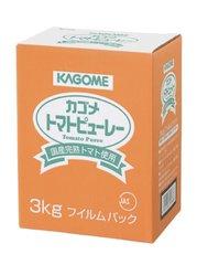 カゴメ 国産トマト100%使用トマトピューレー 3kg
