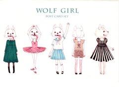 "Yamamoto Haruca ポストカードセット ""WOLF GIRL"""