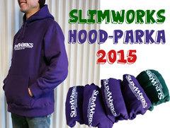 【送料無料】SLIMWORKS フードパーカー2015