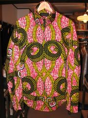 ccp x softs african batik riding shirt jacket no2