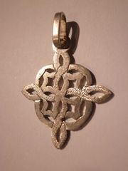 coptic cross made of silver A