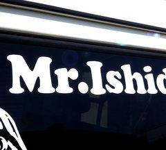 Mr.Ishidai ロゴステッカー