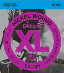 D'Addario EXL120 ×3セット