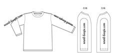 boogieT-6 ロングスリーブTシャツ(白)