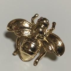 ミツバチピンブローチ