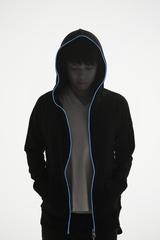 Spoon 黒×ブルー