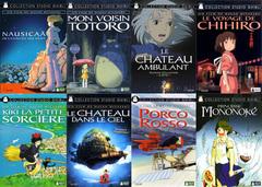 フランス語版「ジブリDVD選べる5本」