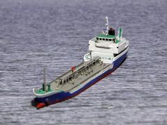 《商船/客船》内航貨物船「999GT型黒油タンカー」《予約》