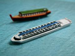 《商船/客船》「川の客船」1/700《予約受付中》