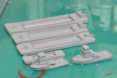 《商船/客船》作業船「タグボート&バージセット」《予約》