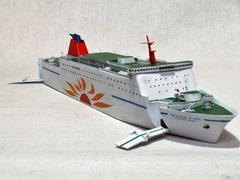 《商船/客船》SF01「さんふらわあさっぽろ」