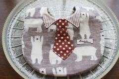 ネクタイつきスタイ
