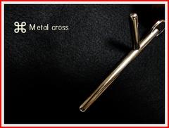 *オーダー可能*Metal cross 1* 手の内・ツボ押し・護身