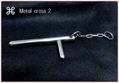 *オーダー可能*Metal cross2 手の内・ツボ押し・護身