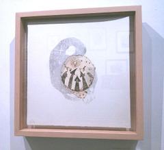 「おぼろ月夜の夜に」銅版画作品