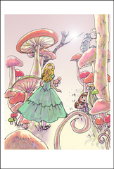 「アリス」ポストカード