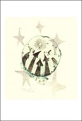 「おぼろ月夜2」ポストカード