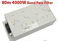 80m BPF 4KW仕様 バンドパスフィルター 新スプリアス検査にどうぞ。