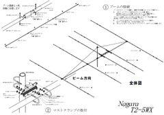 T2-5WX|ナガラ電子 10,14MHz 5エレ