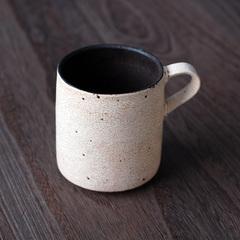 皹化粧赤鋼マグカップ