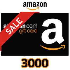 [20%割引セール]Amazon ギフトコード(3,000円券)