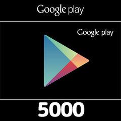 Google Playコード(5000円券)