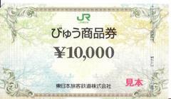 びゅう商品券(10000円券)