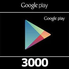 Google Playコード(3000円)