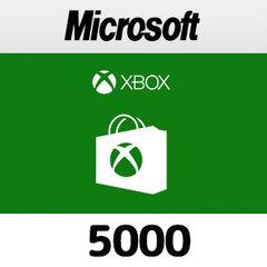 Xboxプリペイドカード(5000円)