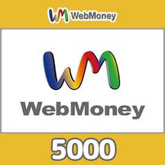 WebMoneyコード(5000円コード)