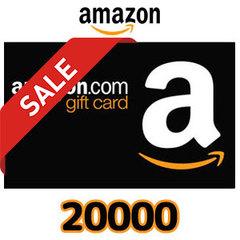 [20%割引セール]Amazon ギフトコード(20,000円券)