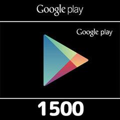 Google Playコード(1500円券)