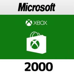 Xboxプリペイドカード(2000円)