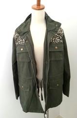 韓国ファッション スパンコール付き薄手ジャケット