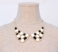 韓国ファッション ストーンネックレス