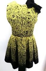 韓国ファッション 刺繍柄ワンピース